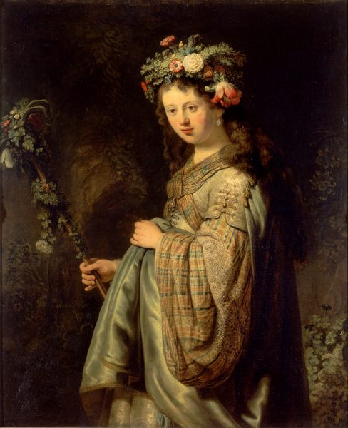 saskia-as-flora-1634-by-rembrandt